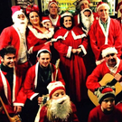 The Singing Santys doing the rounds last year