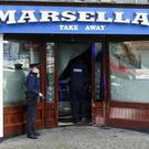 A car crashed through the window of Marcella's Takeaway, Ferrybank, Arklow