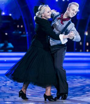 Dr Eva Orsmond & Sean Smullen do their 'Spoonful of Sugar' routine on last Sunday's Dancing with the Stars.