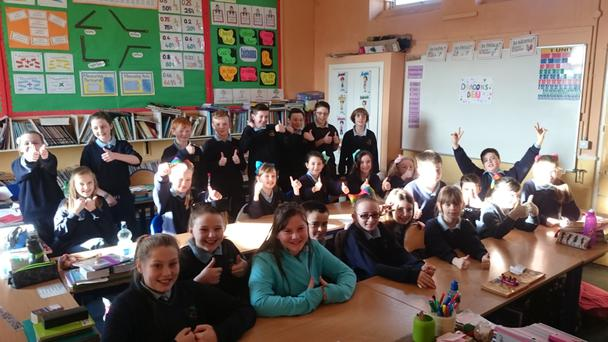 SN Mhuire held a Dragons' Den event