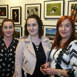 Alice Gray with Sophia and Siobhan Kearns