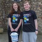 Seana Davis and Thomas Robertson outside Wicklow Gaol