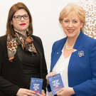 Wicklow County Council's Jenny Sherwin with Minister Humphreys