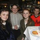 Marie Galligan, Sarah Fitzpatrick, Eadaoin O'Keane and Conor Lacey