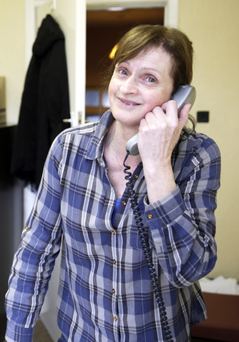 Mary Tobin, Assistant Manager, who is also retiring from Bray Home Help