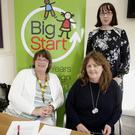 Gill Gary from Knockeevin Montessori and Nature School Greystones, Susan Carey from Hollyoaks Montessori in St Peter's School and Shonagh Byrne from SIPTU