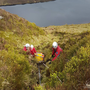 Dublin-Wicklow Mountain Rescue Team members at a training exercise at the Glencree Centre of Peace and Reconciliation last month
