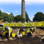 UCD students conducting a dig at Glendalough last year