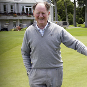 Eamonn Darcy just before a round at Powerscourt Golf Club