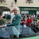 Terry Willers who was Grand Marshall of the 2007 Rathdrum, St Patrick's day parade. Picture: Garry O'Neill