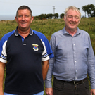 Chairman John Gill and Donal Marron on the 30 acre site purchased by St Patrick's GAA Club