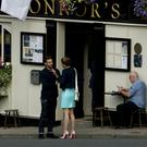 Filming for the US TV series 'Younger' taking place in Tinahely last Wednesday