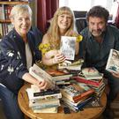 Authors Liz McManus, Tanya Farrelly and David Butler of the Bray Literary Festival