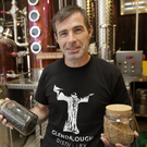 Chief distiller Ciarán Rooney