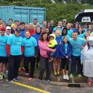 Runners and walkers took to Brittas Bay beach to raise money for Our Lady's Hospital, Crumlin