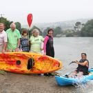 Members of Wicklow Mental Health Association on one of their activity outings