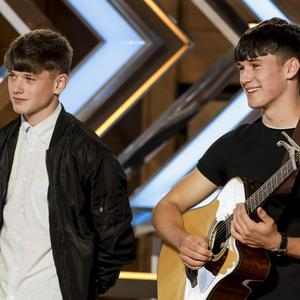 The Price brothers auditioning for X Factor
