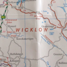 The Failte Ireland map which cuts Co Wicklow off just north of Arklow