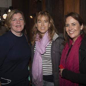 Sinead O'Connor, Anthea McHugh and Yvette Murphy at the Wicklow Brewery Redcross Beer Festival