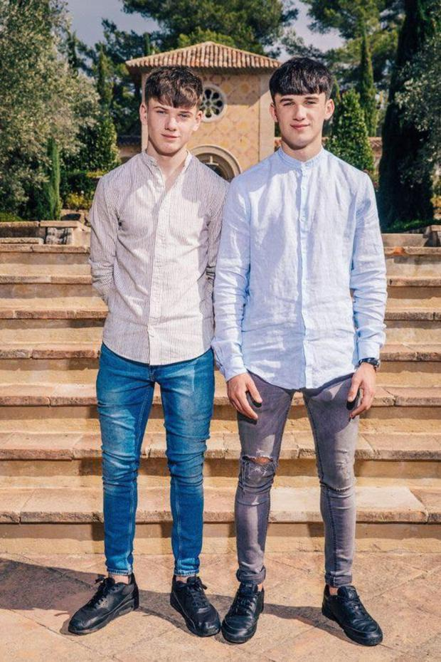 The Price Brothers at the Judges' Houses stage of the competition