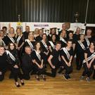 The dancers at the launch of this year's Wicklow Hospice Strictly Come Dancing