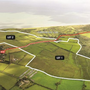 The 240-acre plot of land at Brittas Bay