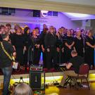 The Unity Gospel Choir performing in the Grand Hotel.