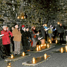 Last year's Carols by Candlelight in Glendalough