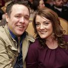Gavin Quinn and Lorraine Farrington