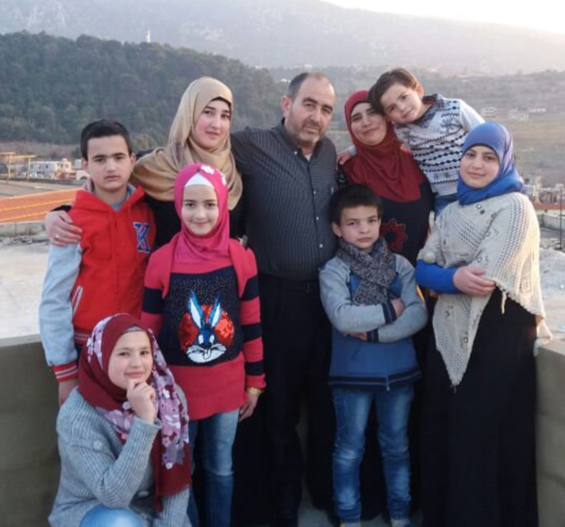 Welcome For Syrian Family Independent Ie