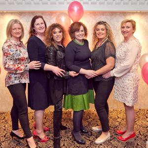 Fundraisers Theresa Scanlan, Denise O'Reilly, Ashling Doyle, Maria Lawlor, Carolyn Whelan and Fidelma Dunne