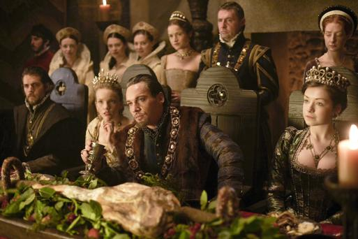 Jonathan Rhys Meyers in The Tudors, which was filmed at Ardmore