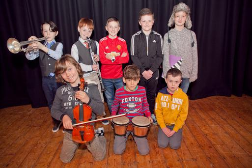 The contestants in the under-12 boys categories