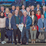 Members of Wicklow Lions Club and Grindelwald Lions Club from Switzerland gathering for dinner in the Lighthouse Restaurant in Wicklow town last Friday