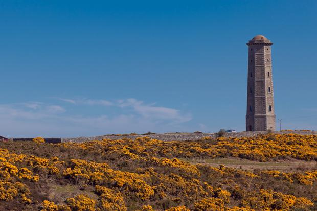 The old Wicklow Lighthouse, now in great demand as a place to stay