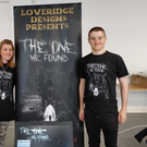 Josh Loveridge with his mother Caroline at the State of Play games expo in Dublin