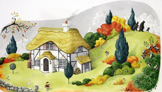 The Three Bears' Cottage by Gráinne Quinlan