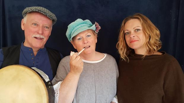 Lorraine O'Brien, Emma O'Brien and Mick Heffernan present a candlelit evening of traditional Seancha storytelling, songs, dance, music and poetry
