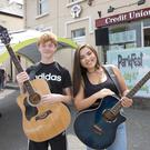 Bobby Dowling and Saoirse Yuan who will be performing at ParkFest at Druids Well, Newtownmountkennedy.