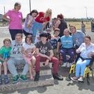 Some of those enjoying VaultFest at Arklow Skate Park on Friday.