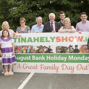 The Tinahely Show launch which took place on Thursday