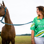 Wicklow polo player Siobhan Herbst with her mount Patsy