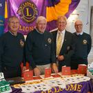 Joe Kirwan, Neville Byrne, Sean Olohan and Pat O'Brien at the Wicklow Lions stand.
