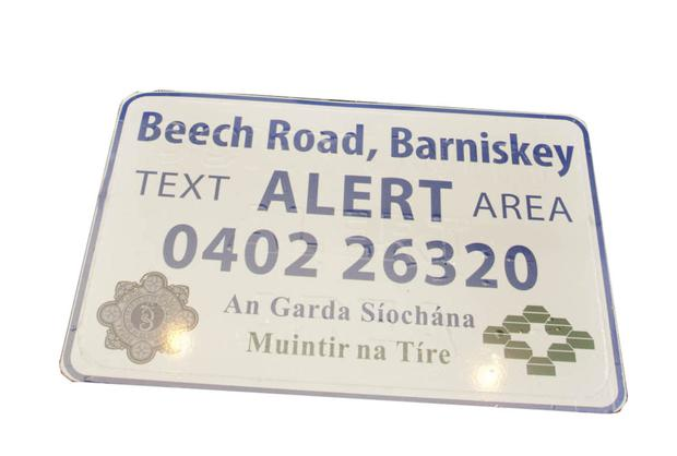 A number of communities across the county have text alert groups in place