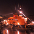 Arklow RNLI assisted a man who entered the water in the early hours of Sunday morning