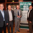 Timmy Doyle, Sean Hollingsworth, Andy Bolger, Tony Norton and Eamon Sheridan at the 20th anniversary of Wicklow Male Voice Choir.