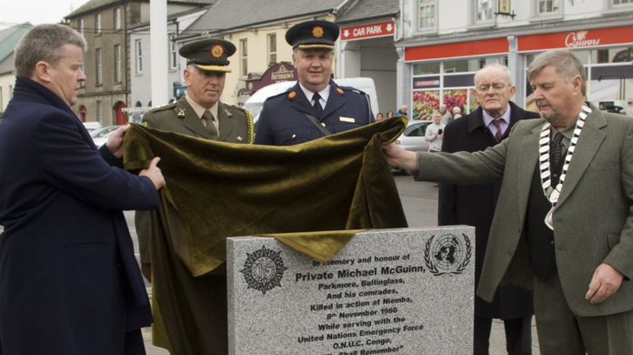 Memorial unveiled to men who died in the line of duty - Independent ie