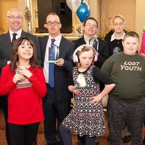 Blue Dolphins Special Olympics Club Members who received their Dedication to Sport Cert Awards