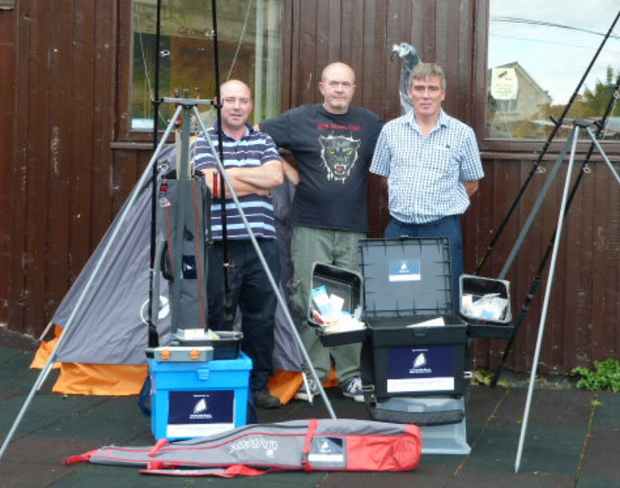 Ian Daly, Jim O'Brien and Peter O'Reilly, who are involved with the Fishing Futures project.