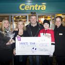 Leah Doyle Ashford GAA Club, Jennie, Liam and Tori Byrne, Teresa O'Reilly of Centra Ashford